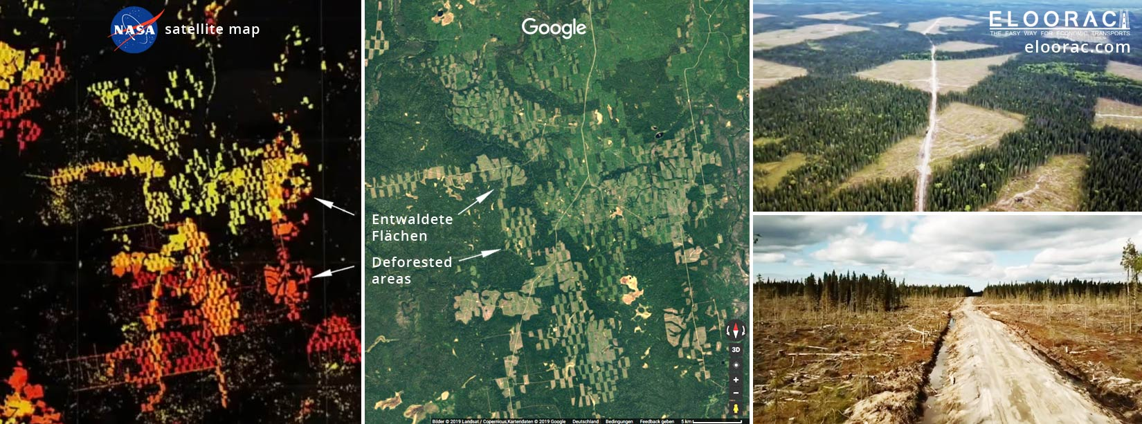 Nachhaltigkeit steht bei Eloorac besonders hoch im Kurs.  Durch die Mehrweg Transport Systeme bzw. Transport Gestelle auf Euro Paletten, kann z.B. die Abholzung der Wälder minimiert.