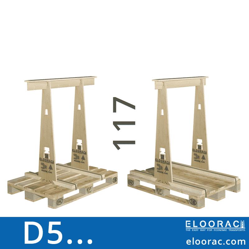 Eloorac Transport Gestell D5... Genutzt wird dieses Rack für den Transport von Naturstein, Granit, Marmor, Blech, Holzplatten und vor allem für Glas. Also ein Transportbock für niedrigere und flache Produkte.