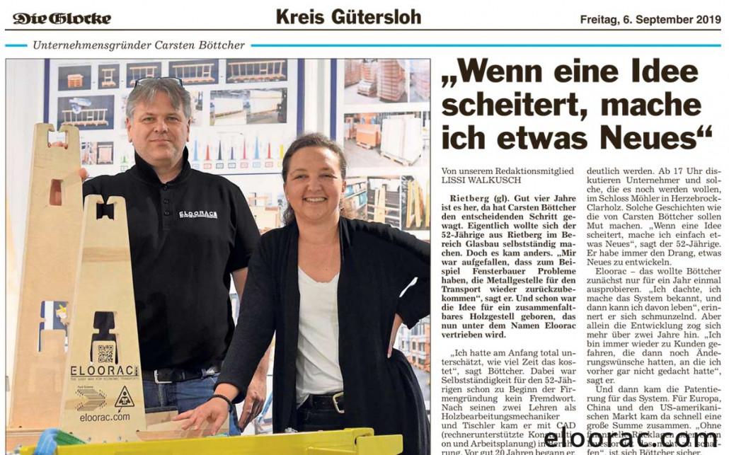 """ELOORAC zum 7.Gründerforum der """"pro Wirtschaft GT"""" 5"""