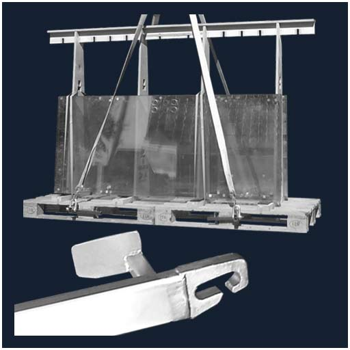 Beamer Pallet lifting device for lifting Euro pallets, EPAL pallets or other pallets such as Knauf pallets.