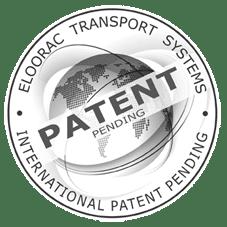 Stempel zum Patent des Eloorac Transportsystems