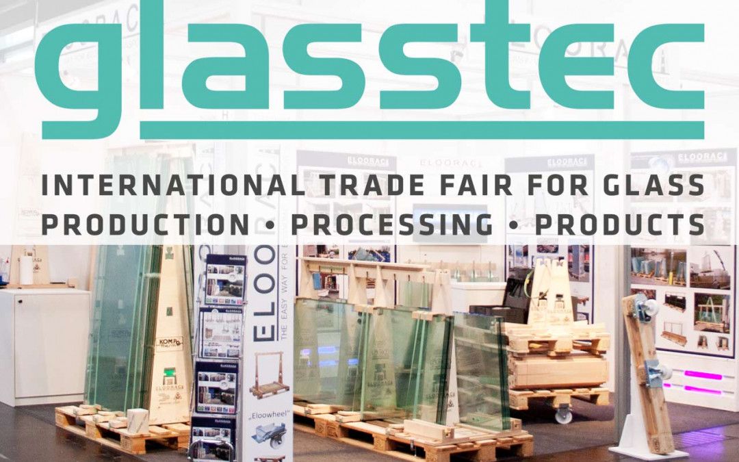 Eloorac Messestand Glasstec 2016 in Düsseldorf
