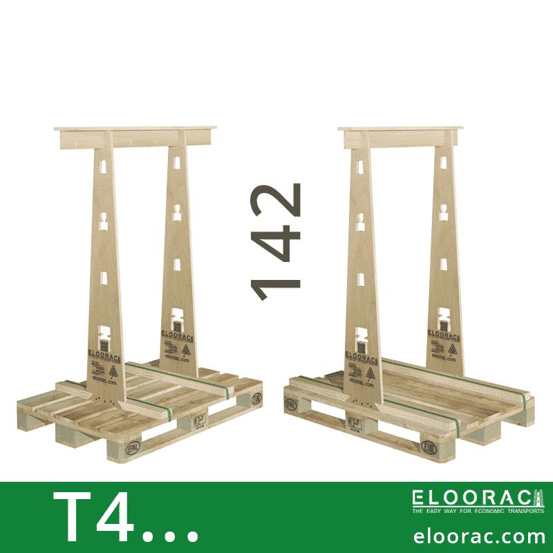 Eloorac Transport Gestell T4... Genutzt wird dieses Rack für den Transport von Fenstern, Fassaden Elementen, Blech, Holzplatten, Naturstein und vor allem für Glas. Also ein Transportbock für hohe und flache Produkte.