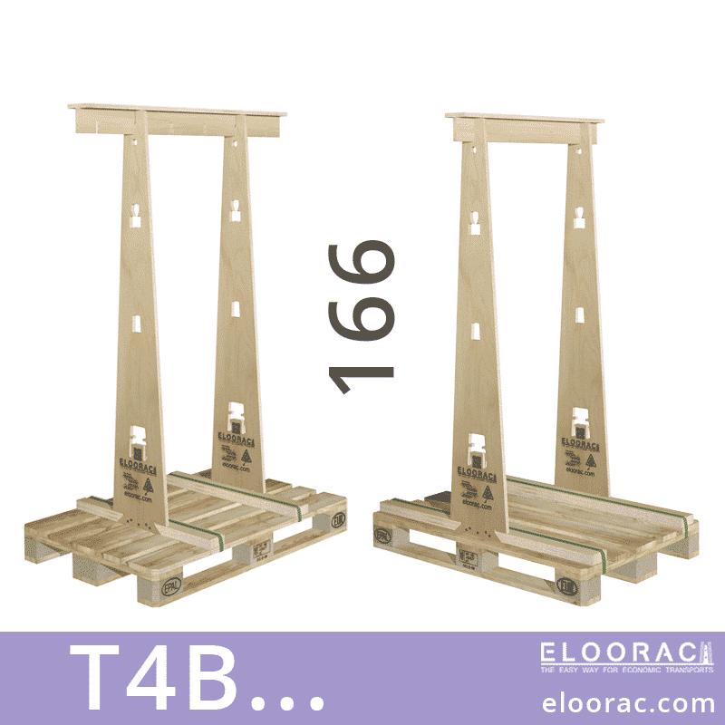 Eloorac Transport Gestell T4B... Genutzt wird dieses Rack für den Transport von Fenstern, Fassaden Elementen, Blech, Holzplatten, Naturstein und vor allem für Glas. Also ein Transportbock für hohe und flache Produkte.