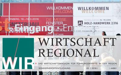 WIRTSCHAFT REGIONAL Fensterbau Frontale Nürnberg